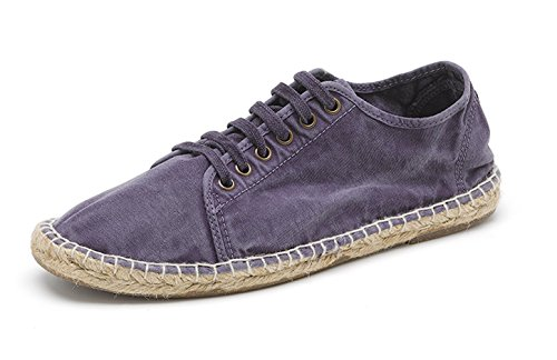 Natural World Eco Scarpe Sneakers Vegan per Uomo in Tela,Stile Classico, con Lacci, Disponibile in Vari Colori - Modello 321E 635