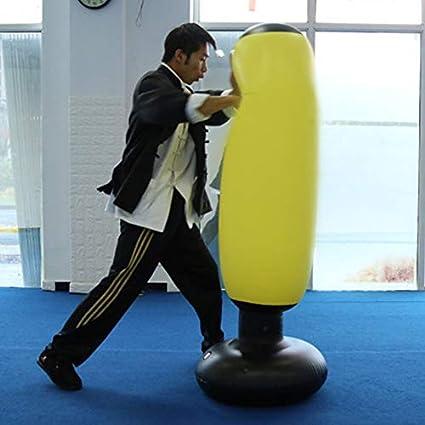 Boxeo Bolso, Alivio Presión Flexible Entrenamiento Hinchable ...