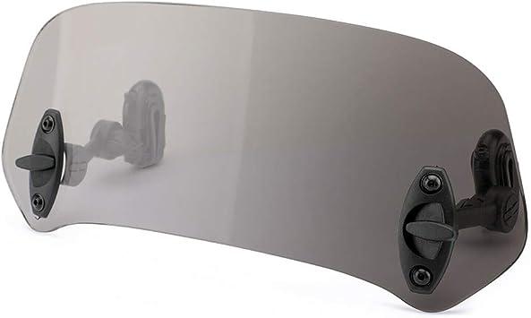 XDT Erweiterung Spoiler Motorrad Windabweiser Motorrad Windschutzscheibe Gepasst Fit for Suzuki SV650 SV1000S Zubeh/ör Windschild SV650S 03-12 SV1000 Color : Black
