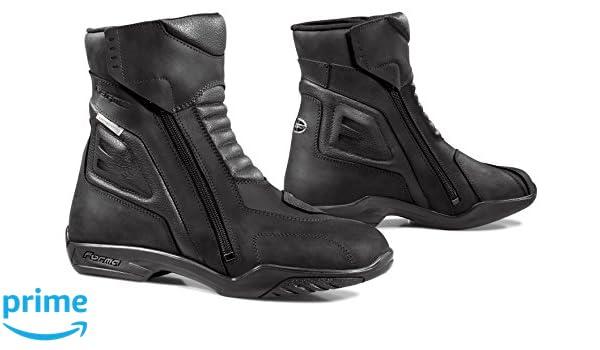 FORMA Botas de Moto para Mujer Eva WP con Homologaci/ón de Tipo CE 38 Negro