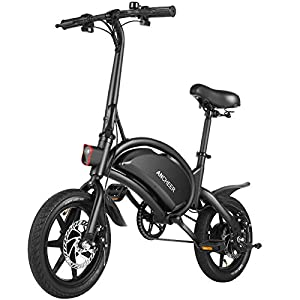 """ANCHEER Electric Bike 500W Electric Commuter Bike 14"""" Electric Bicycle, 20MPH Adults Ebike and Removable 48V 7.5Ah Battery Scooter"""