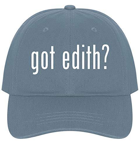 (The Town Butler got Edith? - A Nice Comfortable Adjustable Dad Hat Cap, Light Blue)