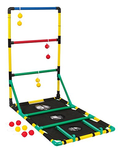 Go! Gater All Weather 3-in-1 Ladderball, Bean Bag Toss, and Washer Toss Set - Features Easy Setup, Storage and Complete with All Accessories