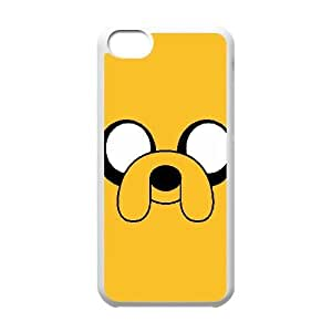 Unique Design Cases Ipod Touch 6 Cell Phone Case White Adventure Time Jake Mmmtp Printed Cover Protector