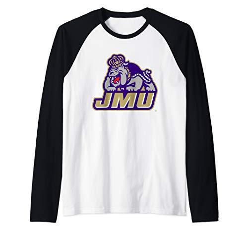 (James Madison JMU Dukes NCAA PPJMU17 Raglan Baseball Tee)