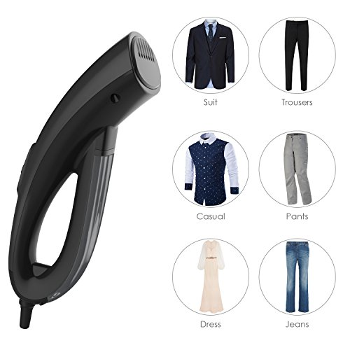 Aicok Mini Travel Garment Steamer, Handheld Por...