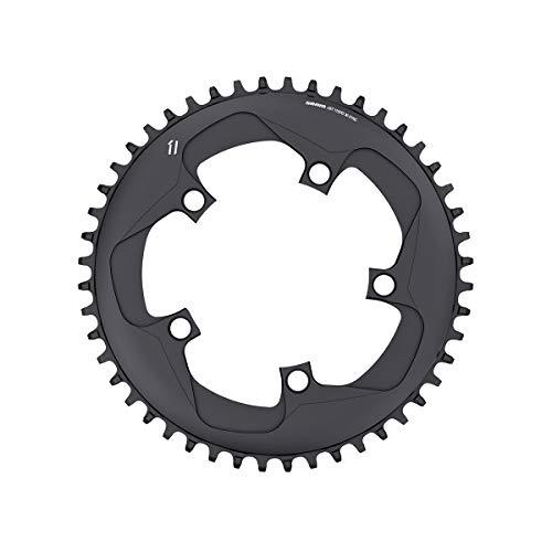 (SRAM X-Sync 11S 46T AL6 Chain Ring, Black, 110mm)