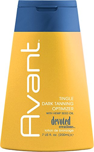 Activated Barley - 2010 Devoted Creations Avant Tingle Dark Tanning Optimizer Tanning Lotion 7 oz