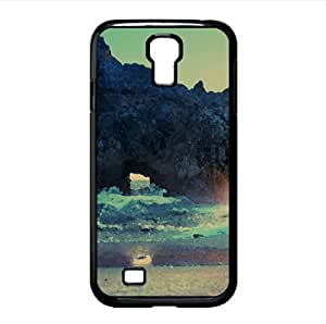 Big Sur Sunset Watercolor style Cover Samsung Galaxy S4 I9500 Case (California Watercolor style Cover Samsung Galaxy S4 I9500 Case)