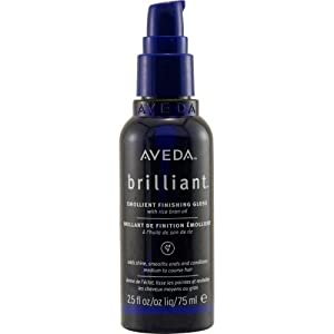Aveda Brilliant Emollient, 2.55 Fl Oz (Pack of 2)