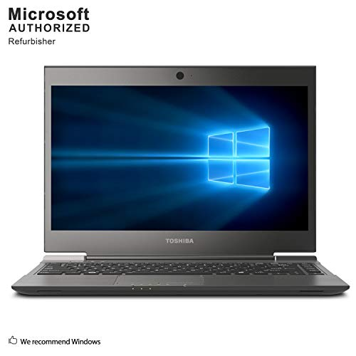 TOSHIBA PORTEGE Z830 13inch Screen, Intel Core I7 2677M Upto 2.9GHz, 4G DDR3, 512G SSD, WiFi, VGA, HDMI, USB 3.0, Windows 10 64 Bit Mult-Languages Supports English/French/Spanish(Renewed)