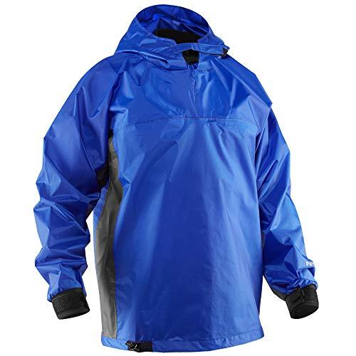 NRS Rio Hooded Paddling Jacket-Blue-XL