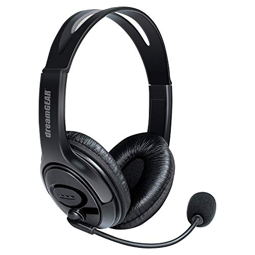 dreamGEAR X-Talk One Wired Headset with Microphone for Xbox One - Xbox One (Black)