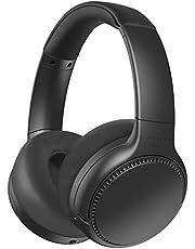 Panasonic Deep Bass Wireless Bluetooth Noise Cancelling Headphones, Black (RB-M700BE-K)