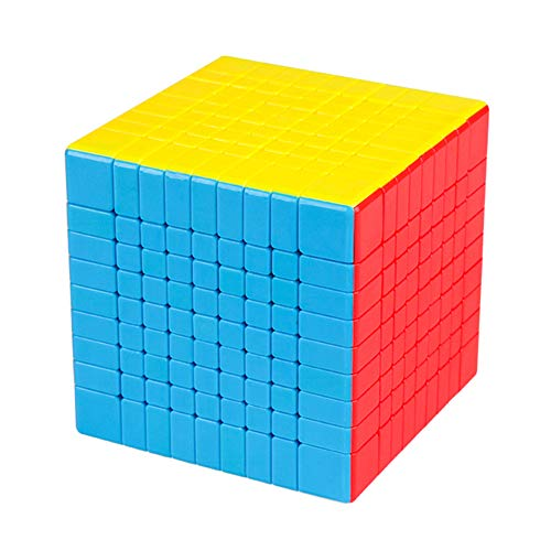 JIAAE 9X9 Professional Competition Rubik's Cube Children Puzzle Colorful Rubik Toy by JIAAE (Image #7)