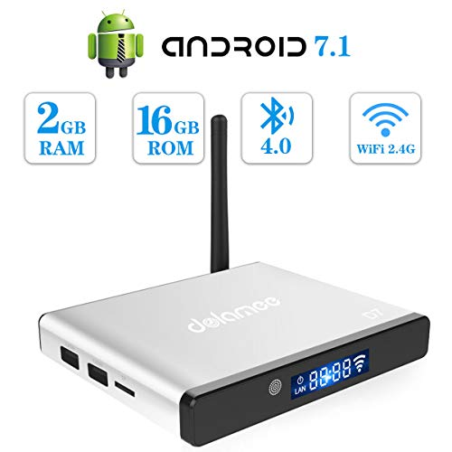 A95X Pro Android 7.1 Smart 4K Box 2GB 16GB Amlogic Quad-Core 64 bit UHD Player WiFi & LAN Miracast