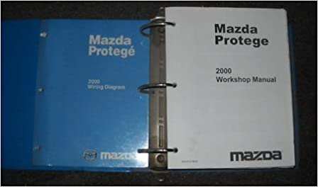 2000 Mazda Protege Service Shop Repair Manual Set Oem Service