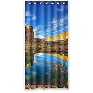 Attractive Scenery-Blue Sky Design Arizona Custom 100% Polyester Waterproof Shower Curtain 36 x 72