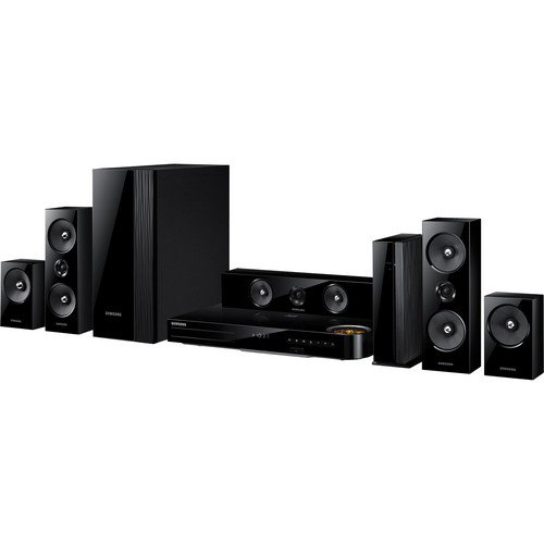 Samsung 5.1 Channel 1000 Watts wireless surround sound 3D Blu-ray Home Theater System by Samsung (Image #3)