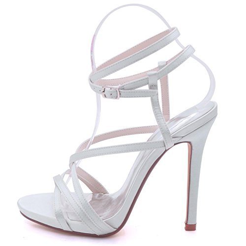 L YC Dress Shoes Tailles de Open Party Red Hauts Plate 7216 Talons Sandales Womens 02 Toe 3 Court à 8 Forme Mariage qqrZpdw