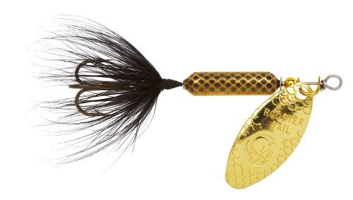 Mayfly Tails (Yakima Bait Wordens Original Rooster Tail Spinner Lure, Mayfly, 1/4-Ounce)