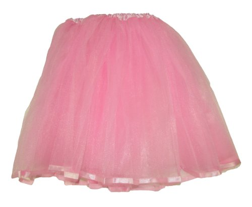 Teen & Adult Ribbon Lined Dance or Dress Up Tutu (Light (Cute Fairy Costumes For Teenagers)