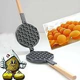 Stovetop Eggettes Egg Waffle maker Pan Mold Iron