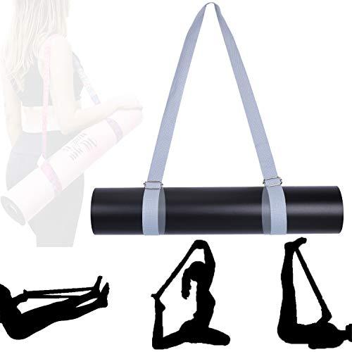 Xtextile Yoga Mat Strap, Non Slip & Comfortable Yoga Strap, Adjustable Yoga Mat Slings & Stretching Strap