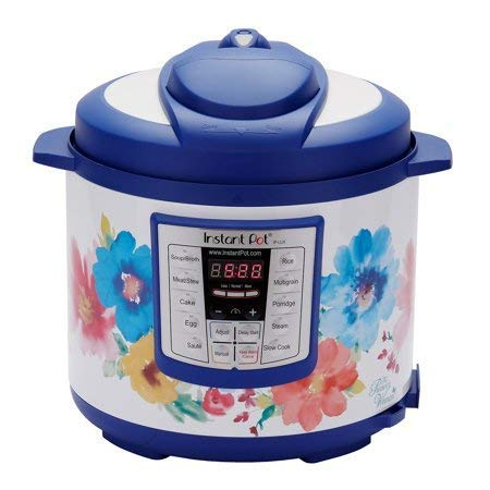 Pioneer Woman Instant Pot 6qt 6 Quart Programmable Pressure Cooker Slow Electric Multi Use Rice Saute Cooking Steamer Warmer by Home Joy (Image #1)