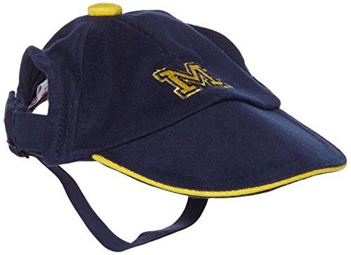 Sporty K9 Collegiate Michigan Wolverines Dog Cap, Medium