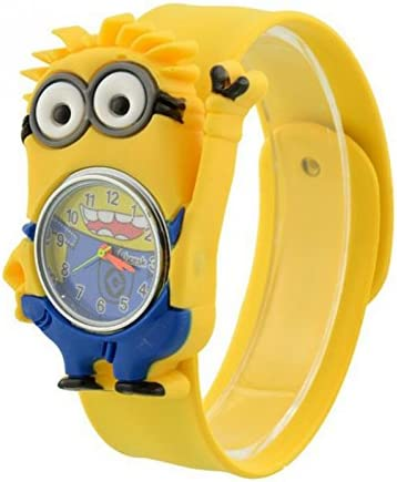 1c38c71dc80 Kids Despicable Me, Minion, Slap Watch, Girls, Boys Educational -Time  Teacher