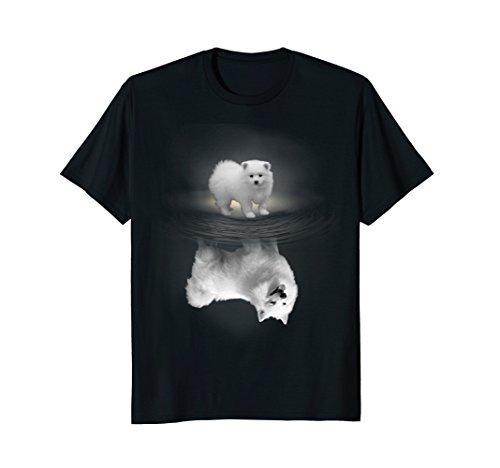 American Eskimo Dog Reflection T-shirt