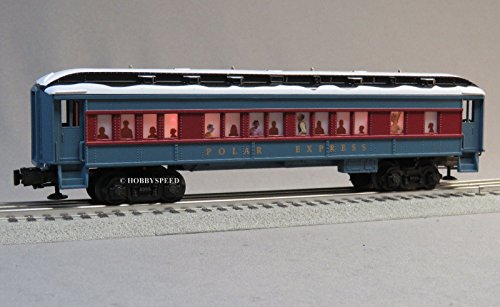 - LIONEL POLAR EXPRESS COACH CAR w/SNOW ON ROOF