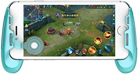 GameSir F1 Móvil PUBG Controller Grip Case para Smartphones, Mobile Phone Gaming Grip con Joystick, Controlador Handle Holder Handpad Joypad con diseño ergonómico: Amazon.es: Electrónica