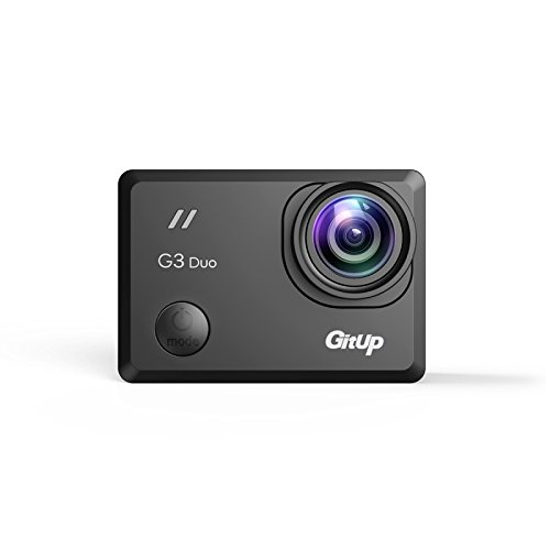 GitUp G3 Duo 2K Action Camera With WiFi - Pro Pack