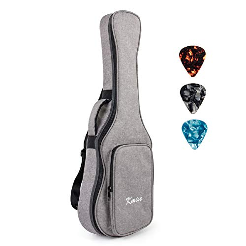 Tenor Ukulele Gig Bag 26 inch Soft Carring Case Double Strap With 3 Picks By Kmise