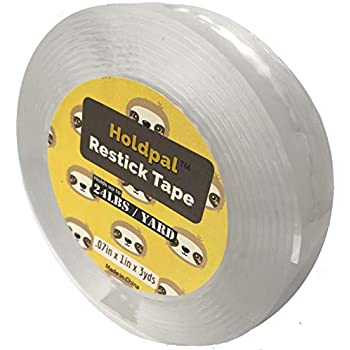 Amazon Com Restickable Double Sided Mounting Tape Apply