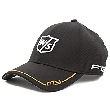 Wilson Staff Golf Cap FG Tour M3 - Gorra de golf para hombre, color negro, talla Talla única: Amazon.es: Deportes y aire libre