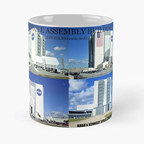 - Vehicle Assembly Building Nasas Kennedy Space Center Florida Nasa Flight - 11 Oz Coffee Mugs Unique Ceramic Novelty Cup, The Best Gift For Holidays.
