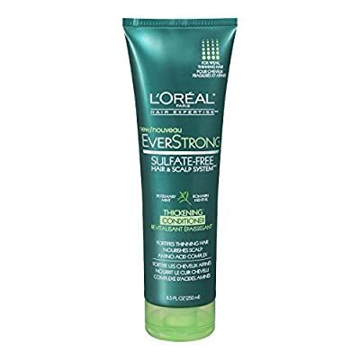L'Oreal Paris EverStrong Thickening Conditioner, 8.5 Fluid Ounce