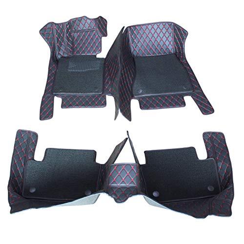 Double Layer, Beige Kanredi Custom Fit Luxury XPE Leather Full car Floor Mats Waterproof for BMW 5 Series 525i 520i 530i 535i 550i 528i