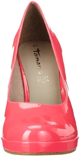 Tamaris Tamaris - Plataforma de material sintético mujer rosa - Pink (NEON PINK PAT. 520)