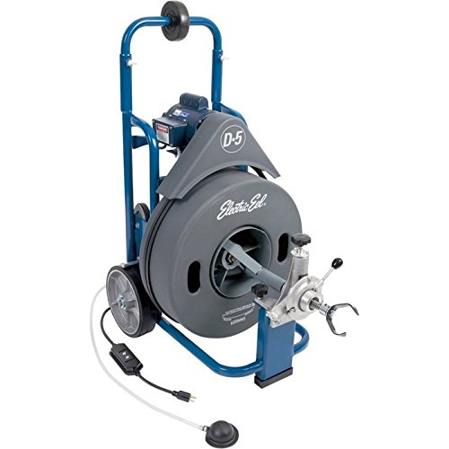 Electric Eel D5K-3/4IC100  Drum-Style Electric Drain Cleaner
