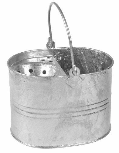 8 Litre Galvanized Mop Bucket by (Galvanized Mop)