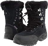 Hi-Tec Women's St. Moritz 200 Waterproof II Winter Boot, Black/Clover, 6 M US