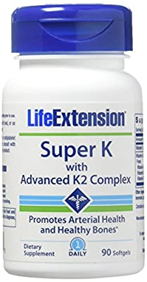 Life Extension Super K with Advanced K2 Complex (two-pack)