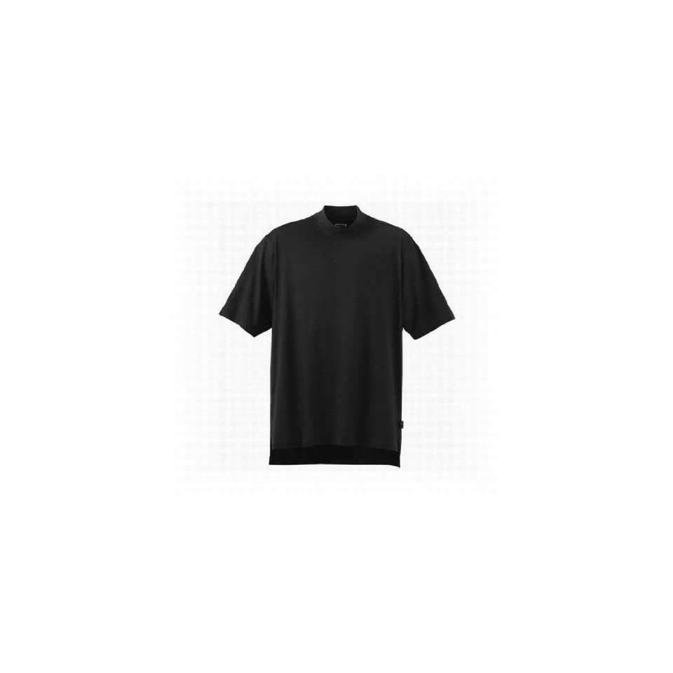 Adidas Mens ClimaLite Short sleeve Jersey Mock Turtleneck on PopScreen
