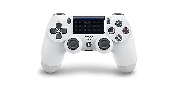 Sony DualShock 4 V2 Gamepad PlayStation 4 Color blanco - Volante ...