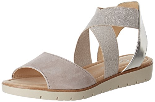 Gabor Women's Fashion Wedge Heels Sandals Pink (Puder/Nude 13) TYLFMxuEN