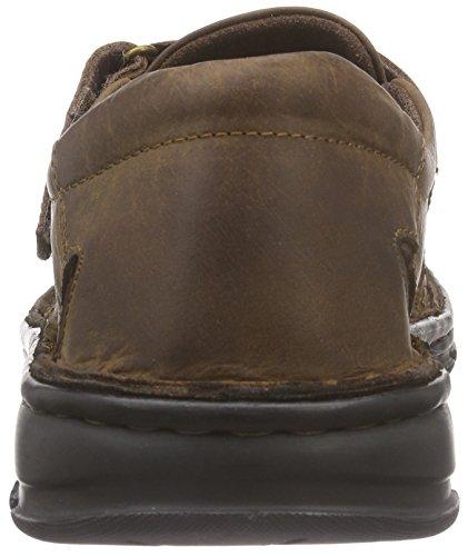 Comfortabel 620190 - Sandalias de vestir de cuero para hombre Marrón - marrón (marrón)